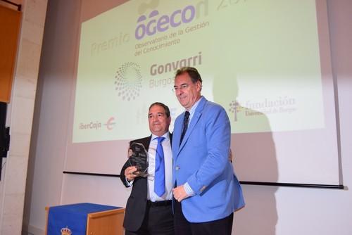 Gonvarri recibe el premio OGECÓN 2016