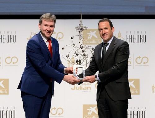 FAE de Oro 2016: Entrega de galardones